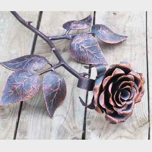 ковка розы